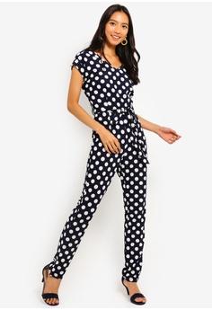 e09f77c678d 44% OFF Mela London Polka Dot Capped Sleeve Jumpsuit S  63.90 NOW S  35.90  Sizes 8 10 12 14
