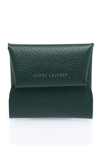 MARCO LAURENT green Grainy Coin Purse MA668AC2VU80HK_1