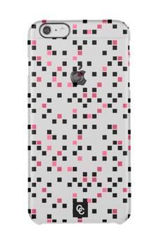 Casey Crazy - Dappled Pink Semi-Transparent Hard Case for iPhone 6