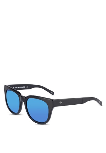 BLANC & ECLARE black Seoul Sunglasses 85312GL45EC91BGS_1