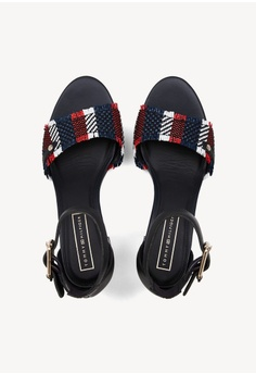 cca099012 Tommy Hilfiger Tommy Raffia Heeled Sandal S  239.00. Sizes 37 38 39 40