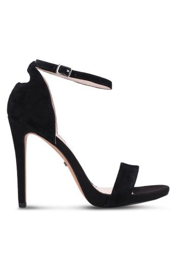 TOPSHOP black Raphie Slim Platform Sandals TO412SH0S30HMY_1