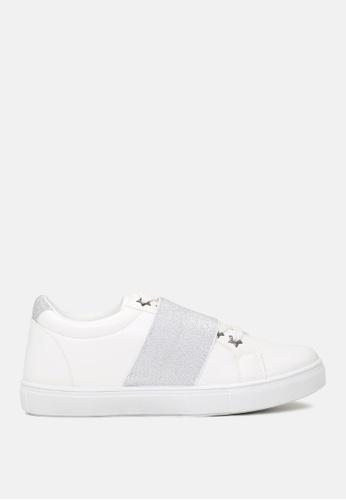 London Rag 灰色 灰色鬆緊帶休閒鞋 FD661SHC0C41ACGS_1