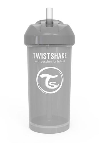 Twistshake Twistshake Straw Cup 360ml 6+M Pastel Pastel Grey 71B3CES1CC18C8GS_1