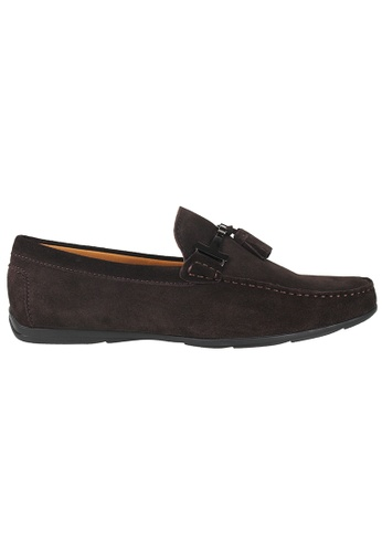 Tomaz brown Tomaz C236 Buckled Tassel Loafers (Coffee) 577F4SH7284A11GS_1