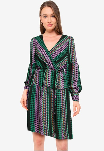 JACQUELINE DE YONG black Caroline Long Sleeve Dress EFD76AAA15D04AGS_1