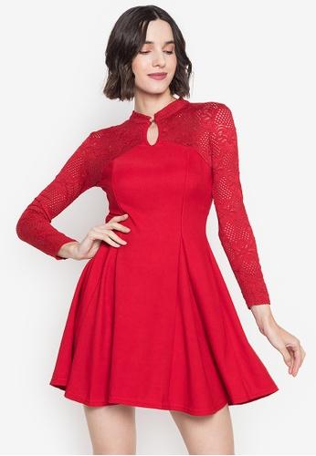 Get Laud red Jolene Mini Sexy Dress 0C856AA9065FECGS_1