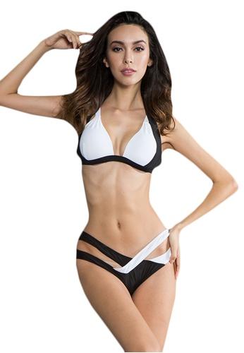 LYCKA multi LWD7111-European Style Lady Bikini Set-Multi B35D2US956774AGS_1