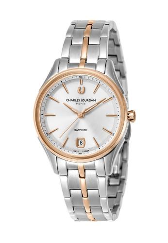 Charles Jourdan silver Charles Jourdan Ladies Watch Elegance Quartz CJ1054-2612 EFA60AC803B25DGS_1
