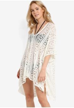 d3e9be55ae Malibu Beachwear white Bayu Crochet Overswim MA709US14JBDMY 1