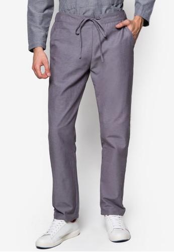 束口休閒長褲, 服飾, esprit床組男性服飾