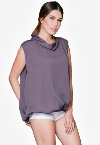 ffb04220333dc Shop LUCA Bella Sleeveless Turtleneck Top Online on ZALORA Philippines