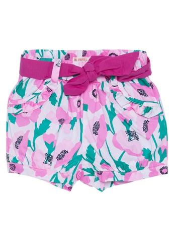 Du Pareil Au Même (DPAM) pink Waist Tie Shorts 50C87KA01CAC32GS_1