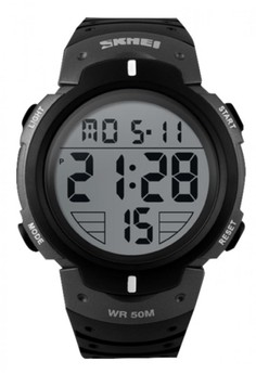 50M Waterproof Big Display Digital Watch