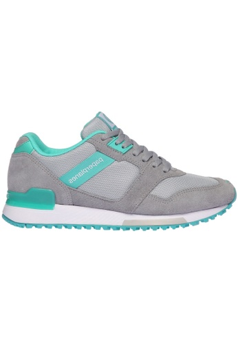 paperplanes grey Paperplanes-1329 Casual Mesh Cross Trainer Sneakers Shoes US Women Size PA355SH42PHDSG_1