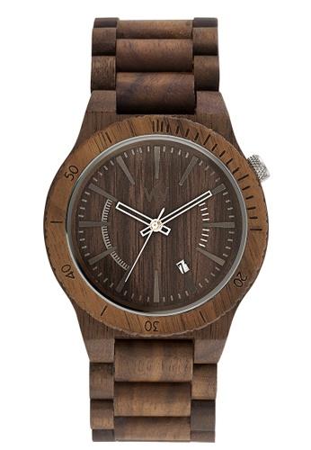 WEWOOD brown Assunt Nut Watch 46mm 46658AC0C79818GS_1