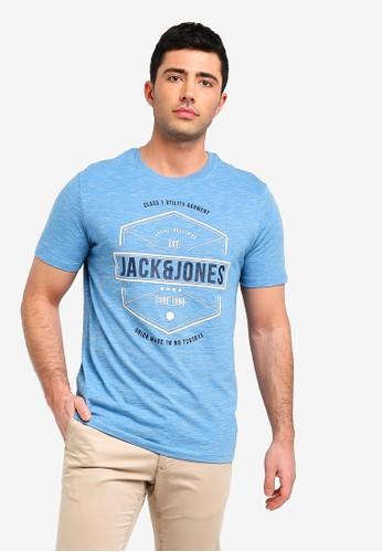 Jack & Jones blue Fresco T-Shirt 82D88AA44D3061GS_1