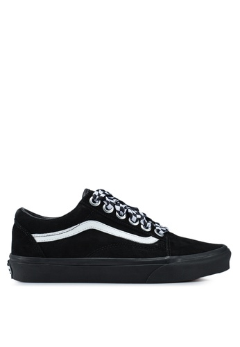 87ab9372cf502 Buy VANS Old Skool Check Lace Sneakers | ZALORA HK