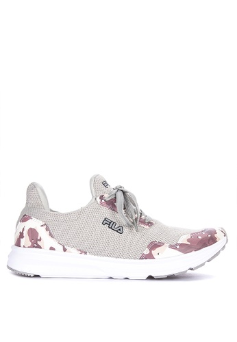 Fila grey Cammo Running Shoes D9B04SH6BA1C36GS_1