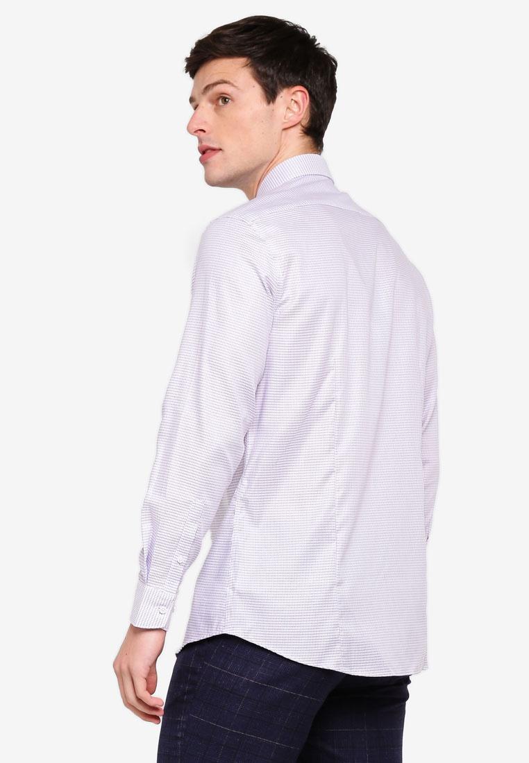 Egg Shirt Checked Plant Anti G2000 Long Odour Sleeve IwS6Yq