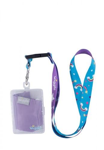 wigglo purple Wigglo Lanyard & Face Mask Box Rainbow F8E9CESD7D7218GS_1