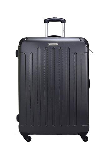 Calvin Klein silver Calvin Klein Littleton - 28 inch Hard Case Luggage AE44AAC229BEF4GS_1