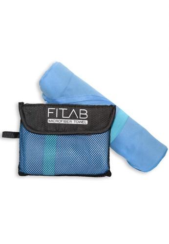 Fitlab blue Microfiber Sports Towel 7014DHL04E8E23GS_1