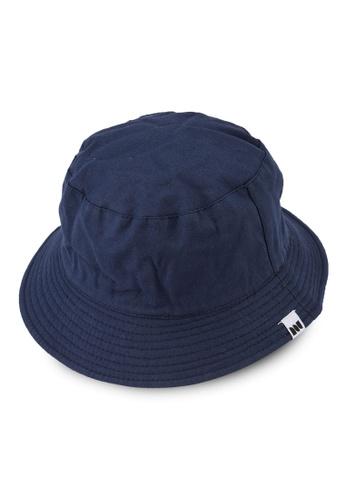 Milliot & Co. navy Rowen Reversible Bucket Hat 06169AC21D1FB1GS_1