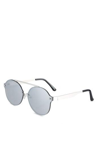 Quay Australia silver Camden Heights Sunglasses QU661GL0RLUZMY_1
