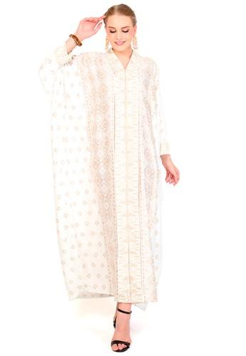 Kanzi by liza yahya white Kanzi Tapis Long Sleeve White 08B8AAA38B0715GS_1