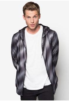 Lightweight Gradient Hoodie Jacket