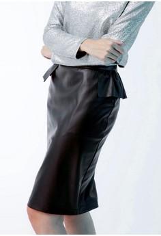 Flouncy Missy Midi Skirt