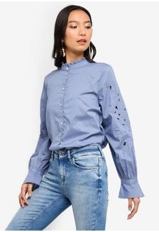 0e65764c0e8ae Violet Long Sleeve Shirt 2D3F2AAD2FA528GS 1