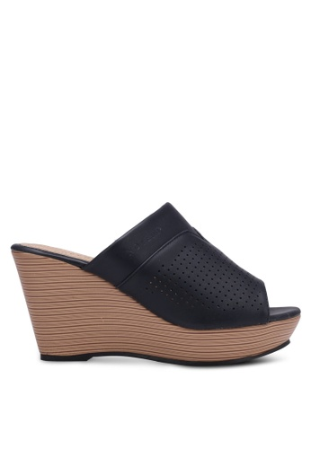 Noveni navy Perforated Wedges NO978SH0RX2XMY_1