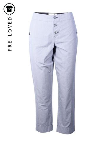 Marni black marni Extra Small Black And White Check Pants 61675AA77253C9GS_1