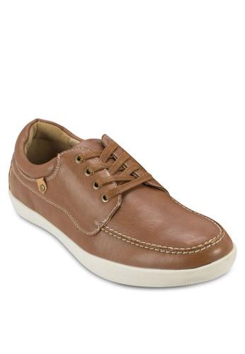 esprit 香港XAVANY 繫帶休閒皮鞋, 鞋, 休閒鞋