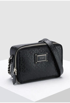 0ffb42fb73eb Guess Shannon Mini Crossbody Camera Bag S$ 110.00. Sizes One Size