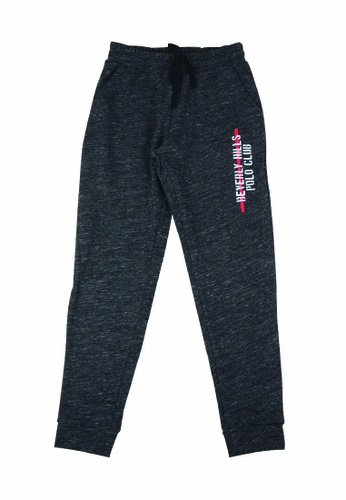 Beverly Hills Polo Club grey BHPC Women Double Knit Graphic Jogger 21A2AAA22F9126GS_1