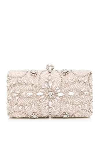 Forever New pink Tyra Embellished Clutch 5B6BDAC7434ADEGS_1