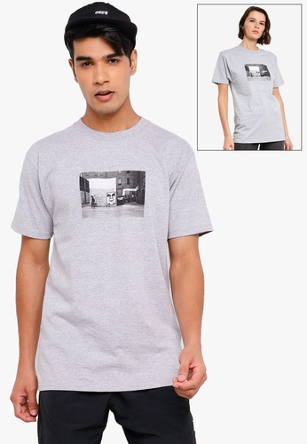 OBEY grey Icon Face Toronto Tee 8D2C3AAB44ACD7GS_1