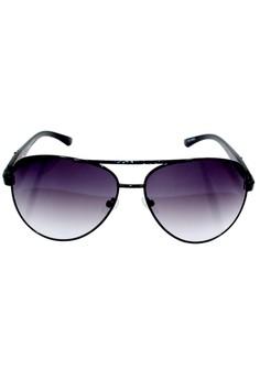 Maldives CY5700 Unisex Cyrus Sunglasses (Black)