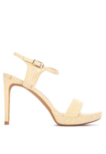 Primadonna yellow Heeled Sandals 751D9SHC71E8E2GS_1