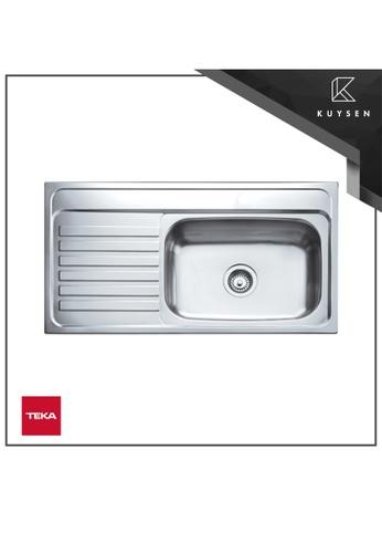 Teka Sink silver America 950.510.1B.LD.1H Inlay Sink 8375EHLDEE379BGS_1