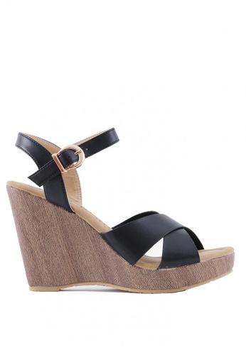 7soles black Aaliyah L Heel Sandals 990E3SH33D347EGS_1