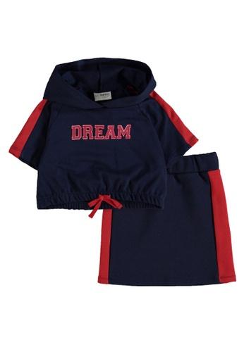 LC Waikiki navy Sweatshirt and Skirt Set 0C302KA15836AAGS_1