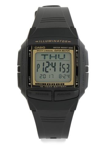 Casio black Unisex Digital Watches DB-36-9AVDF A7876AC795F1F1GS_1