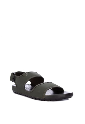 Fitflop green Lido Back-Strap Sandals 75D63SH56A427DGS_1