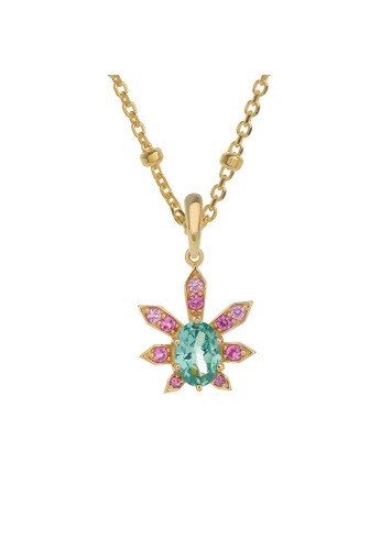 Arte Madrid pink and green and gold Arte Madrid Tropical Dream Agave Pendant 23ECEACDF7DAADGS_1