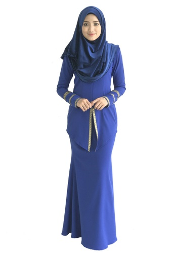 Farosa Kebaya Nazirah (Blue) from Farosa in Blue