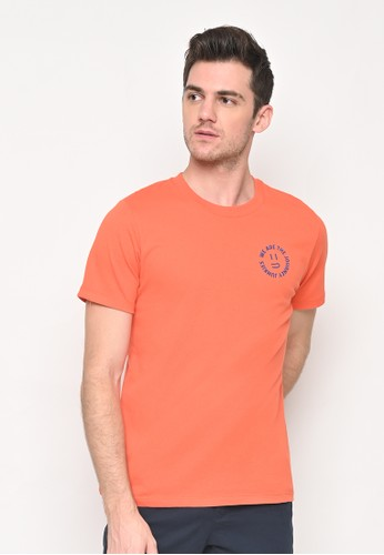 Skelly orange Skelly JJ Smiley Tee Orange 3AFC3AAB9C5557GS_1